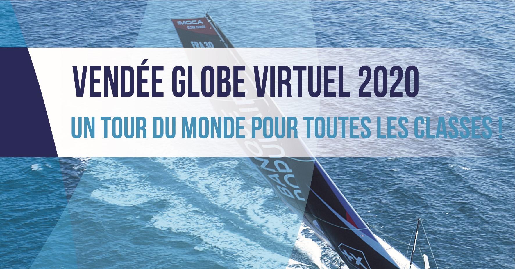 Projet Voile Virtuelle Vendée Globe 2020: suivez Alexia Barrière