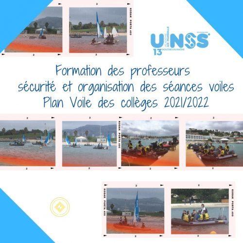 Formation Plan Voile des Collèges le 15/09/2021