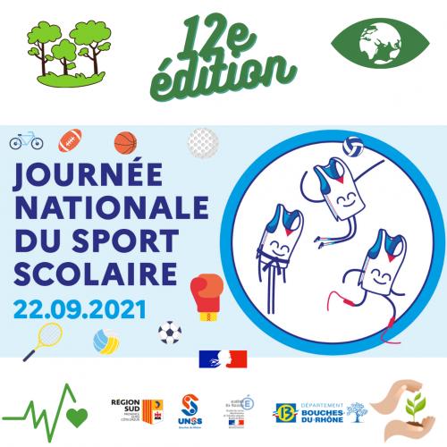 J-3 avant la Journée Nationale du Sport Scolaire 📣📣
